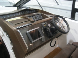 "The Princess V42 Sport Boat console"" that I designed when on placement at princess yachts international plc."