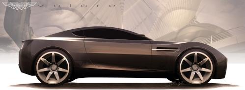 Jame Trim's Aston Martin Volare concept