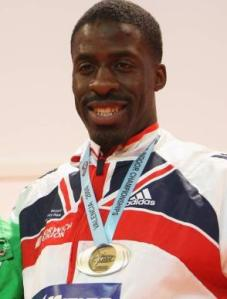 British sprinter Dwain Chambers who received a lifetime Olympic ban in 2004 after testing positive for banned steroid THG
