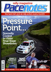 Pacenotes Rally Magazine, September Issue