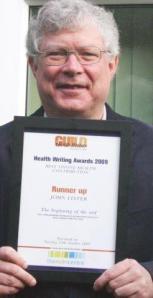 John Lister Guild of Health Writers 2009 Runner Up
